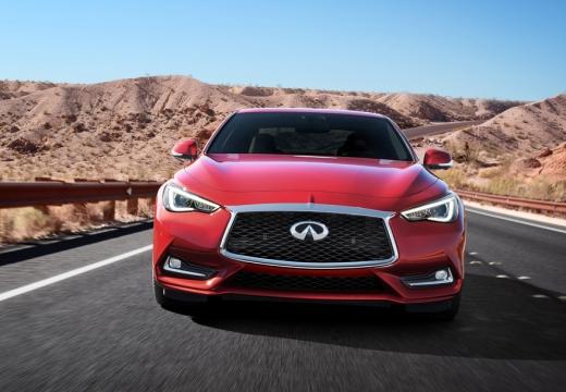 INFINITI Q60 coupe czerwony jasny przedni