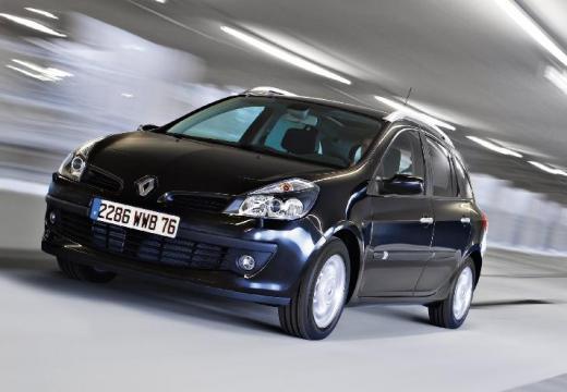 RENAULT Clio III Grandtour I kombi niebieski jasny przedni lewy