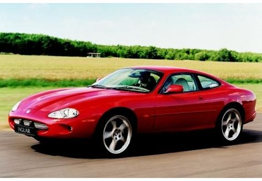 JAGUAR XK8 I coupe czerwony jasny przedni lewy
