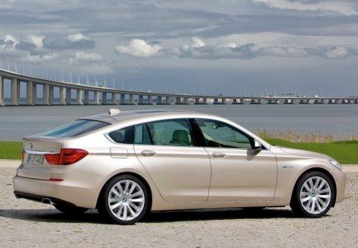 BMW Seria 5 Gran Turismo hatchback beige tylny prawy