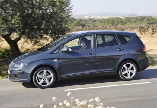 SEAT Altea XL II hatchback szary ciemny przedni lewy
