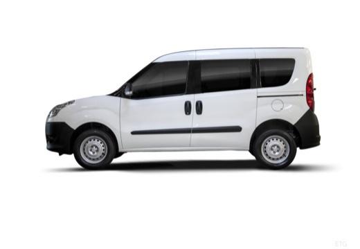 FIAT Doblo III kombi biały boczny lewy