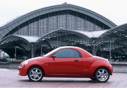 FORD Streetka roadster czerwony jasny boczny lewy