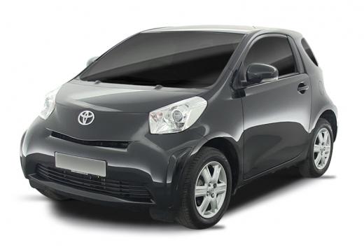 Toyota iQ I hatchback czarny