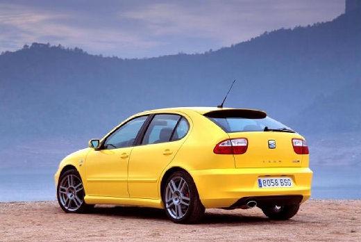 SEAT Leon I hatchback żółty tylny lewy