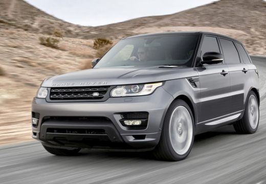 LAND ROVER Range Rover kombi silver grey przedni lewy