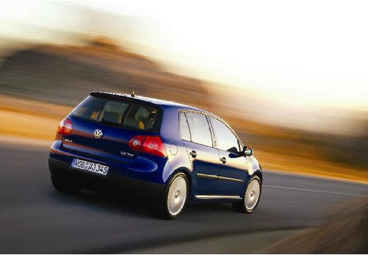 VOLKSWAGEN Golf V hatchback niebieski jasny tylny prawy