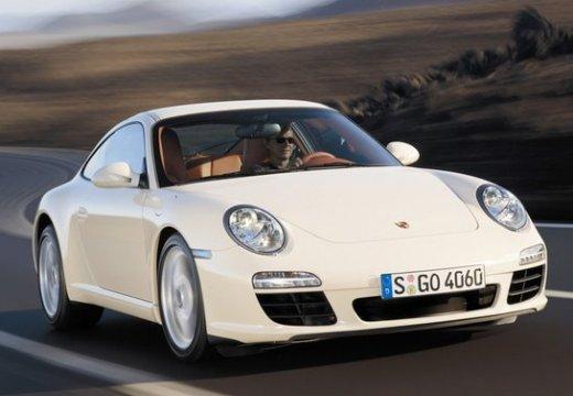 PORSCHE 911 997 coupe biały przedni prawy