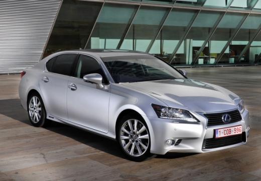 LEXUS GS IV sedan silver grey przedni prawy