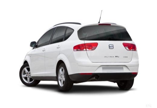 SEAT Altea XL II hatchback tylny lewy