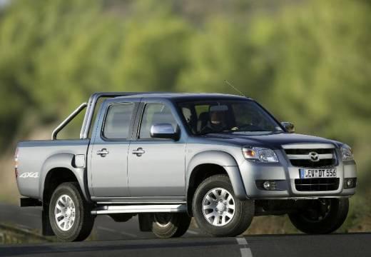MAZDA B-seria pickup niebieski jasny przedni prawy