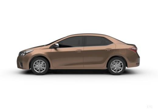 Toyota Corolla III sedan boczny lewy