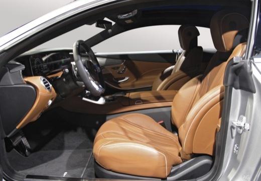 MERCEDES-BENZ S Klasa coupe wnętrze