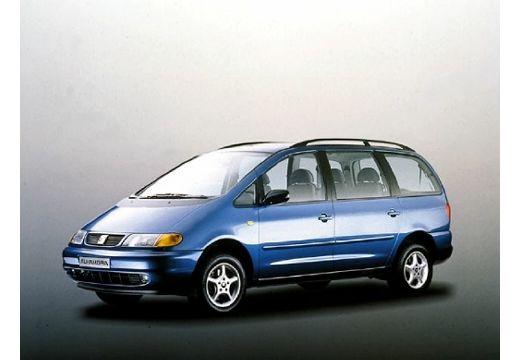 SEAT Alhambra I van niebieski jasny przedni lewy