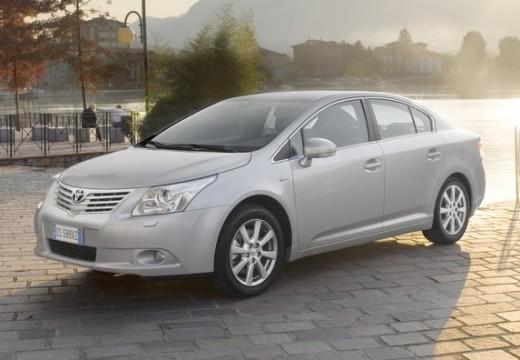 Toyota Avensis V sedan silver grey przedni lewy
