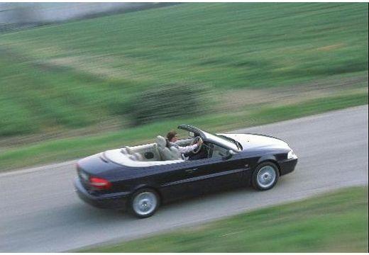VOLVO C70 Cabrio I kabriolet czarny górny tylny