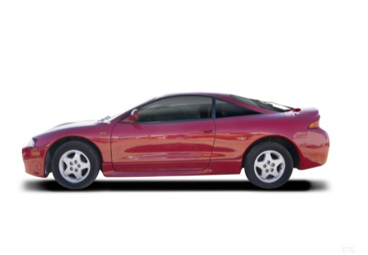 MITSUBISHI Eclipse III coupe boczny lewy