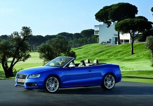 AUDI A5 Cabriolet I kabriolet niebieski jasny