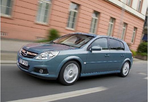 OPEL Signum II hatchback niebieski jasny przedni lewy