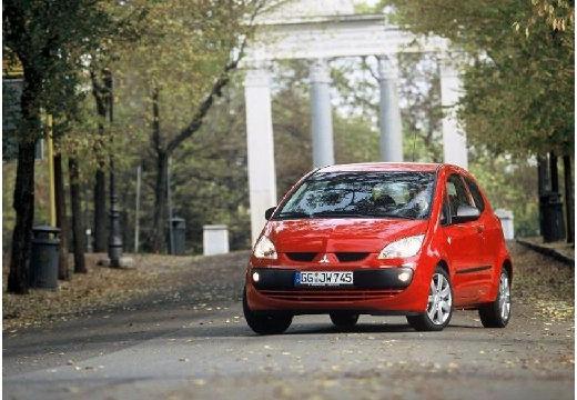 MITSUBISHI Colt V hatchback czerwony jasny przedni lewy