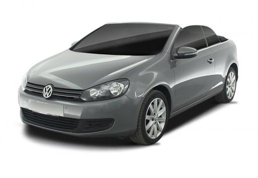 VOLKSWAGEN Golf Cabriolet kabriolet silver grey