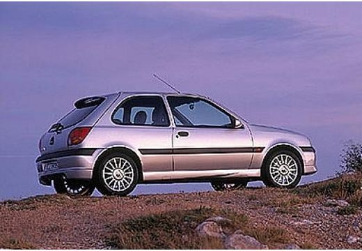 FORD Fiesta IV hatchback silver grey tylny prawy
