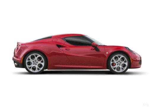 ALFA ROMEO 4C coupe boczny prawy