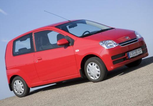 DAIHATSU Cuore VI hatchback czerwony jasny przedni prawy