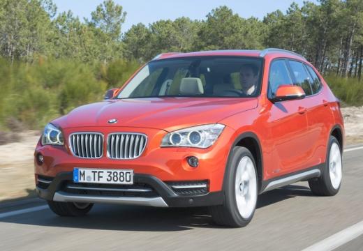 BMW X1 X 1 E84 II kombi pomarańczowy przedni lewy