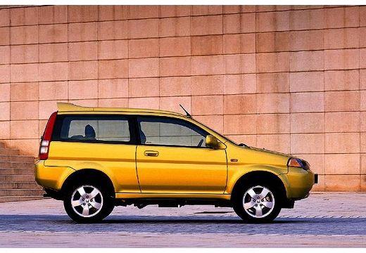HONDA HR-V kombi żółty boczny prawy