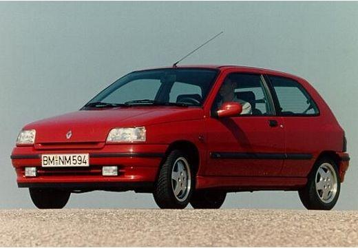 RENAULT Clio I hatchback czerwony jasny przedni lewy