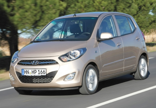 HYUNDAI i10 1.1 Classic klm Hatchback II 69KM (benzyna)