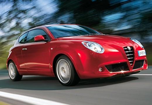 ALFA ROMEO MiTo hatchback czerwony jasny przedni prawy