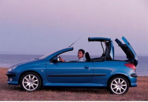 PEUGEOT 206 CC II kabriolet niebieski jasny boczny lewy
