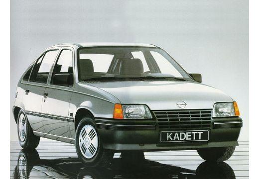 OPEL Kadett E hatchback silver grey przedni prawy