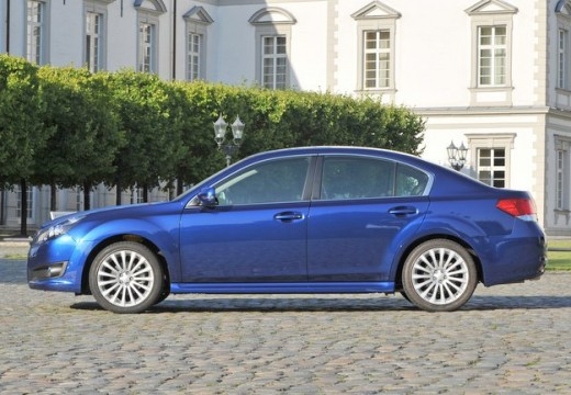 SUBARU Legacy VIII sedan niebieski jasny boczny lewy