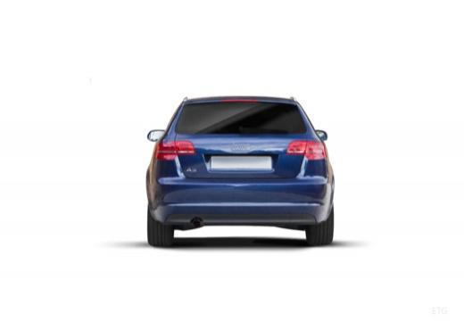 AUDI A3 Sportback II hatchback tylny