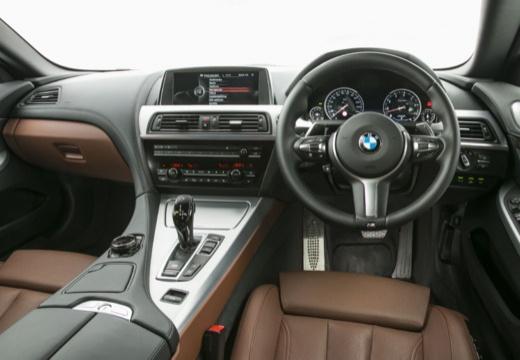 BMW 6 Серии кабриолет приборная панель