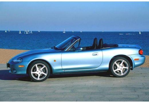 MAZDA MX-5 III roadster niebieski jasny boczny lewy