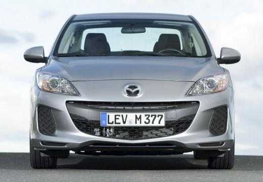 MAZDA 3 IV sedan silver grey przedni