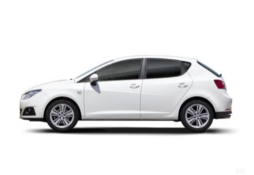 SEAT Ibiza V hatchback boczny lewy