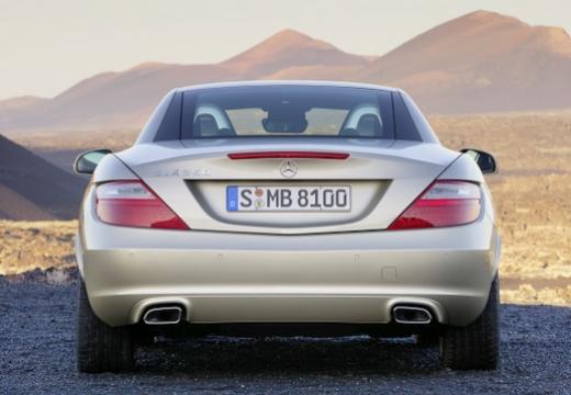 MERCEDES-BENZ Klasa SLK SLK R 172 roadster beige tylny