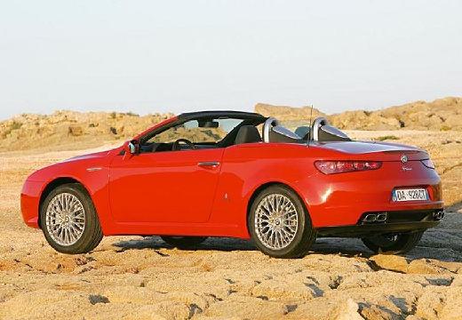 ALFA ROMEO Spider V kabriolet czerwony jasny tylny lewy