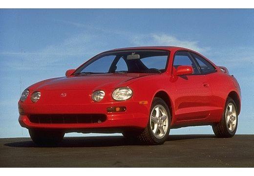Toyota Celica coupe czerwony jasny przedni lewy