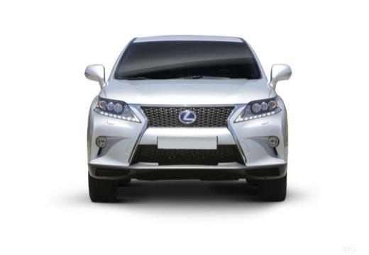 LEXUS RX III kombi biały przedni