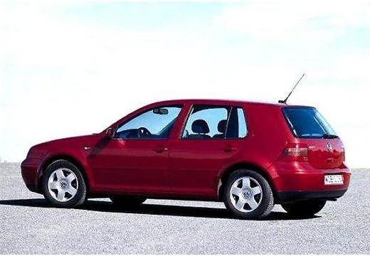 VOLKSWAGEN Golf IV hatchback bordeaux (czerwony ciemny) tylny lewy