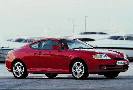 HYUNDAI Coupe III coupe czerwony jasny przedni prawy