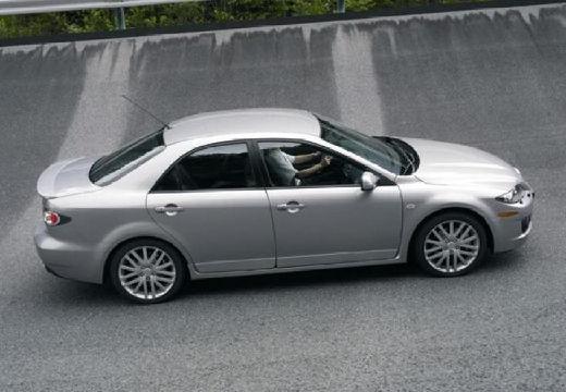 MAZDA 6 II sedan silver grey boczny prawy