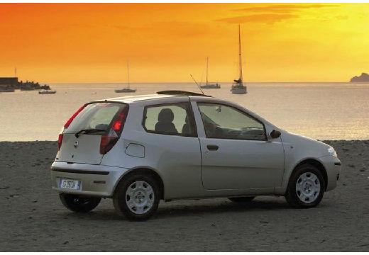 FIAT Punto II II hatchback silver grey tylny prawy