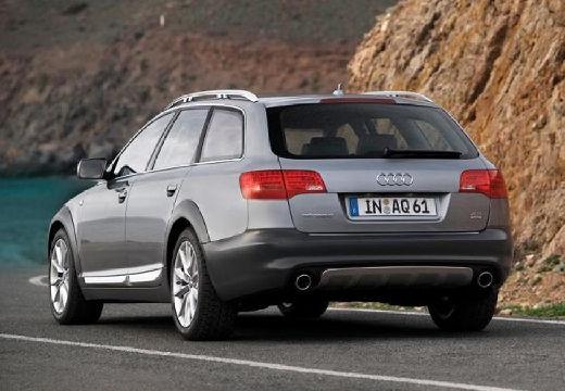 AUDI A6 Allroad II kombi silver grey tylny lewy